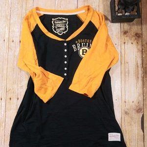 🎀Mitchell & Ness size XL Boston Bruins Shirt {B8}